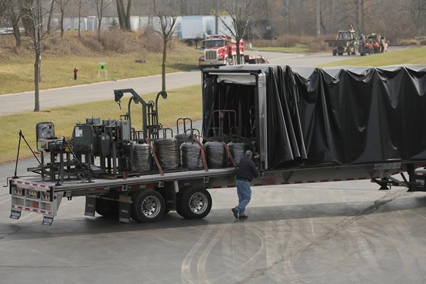 66curtain side trailer conestoga