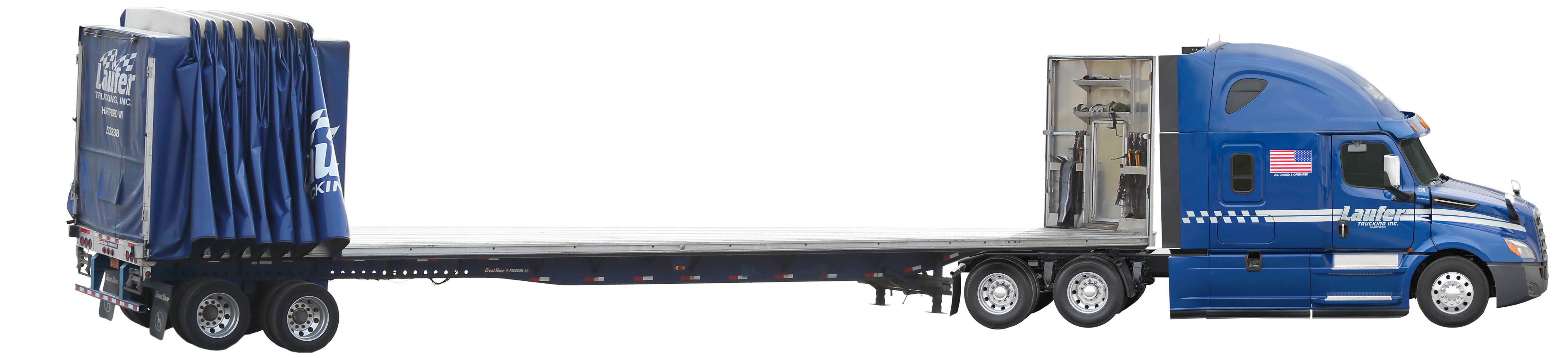 Curtain Side Trailer Conestoga